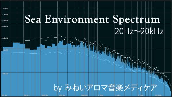 海の音の周波数成分